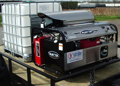 alkota trailer mounted pressure washer